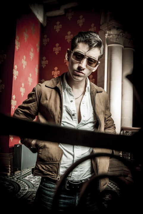 Alex Turner (Arctic Monkeys), London. June 2013