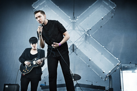 The XX, Rock Werchter. July 2012