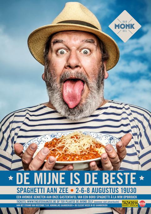 Spaghetti Aan Zee voor Monk