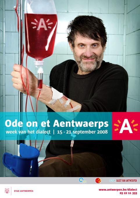 Week van het dialect, Robbe De Hert, Antwerpen. 2008
