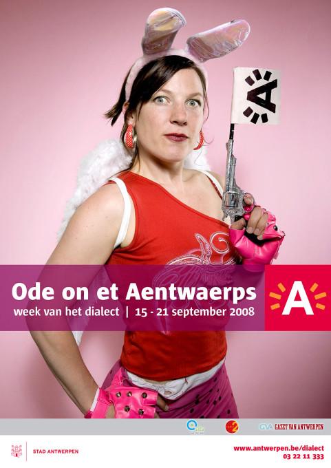 Week van het dialect, Lady Angelina, Antwerpen. 2008