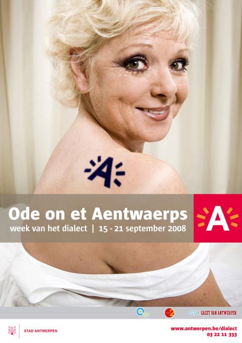 Week van het dialect, An Nelissen, Antwerpen. 2008