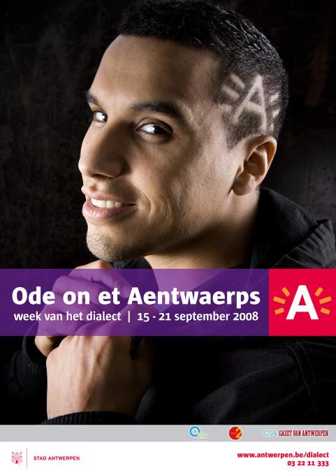 Week van het dialect, Said Assisi, Antwerpen. 2008