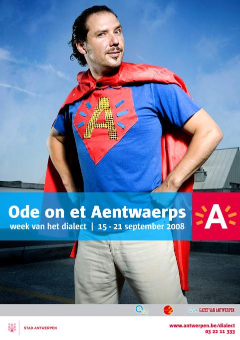 Week van het dialect, Axel Daeseleire, Antwerpen. 2008
