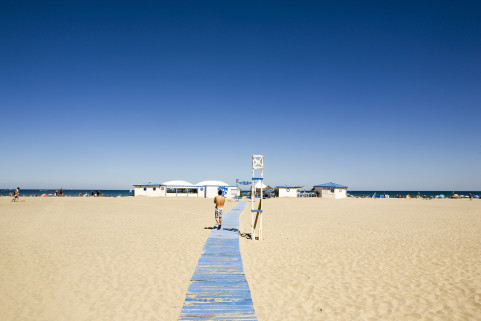 Canet, France. July 2008