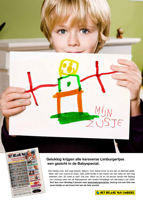 Het Belang van Limburg Babyspecial. 2009