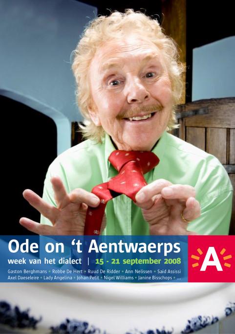 Week van het dialect, Gaston Berghmans, Antwerpen. 2008