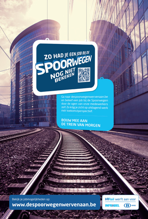 NMBS for VVL/BBDO. AD : Klaartje Galle. March 2015
