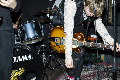 The Dirty Blonds, Deptford (UK), March 2015