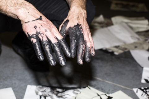 Bonom's Hands. Ghent, May 2015