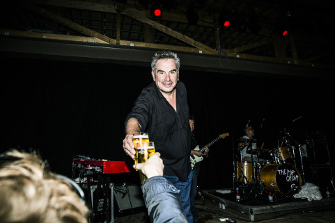 Mark Stewart. The Pop Group. Netwerk, Aalst, May 2015.