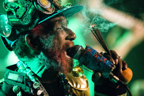 Lee 'Scratch' Perry. Brugge, October 2015.