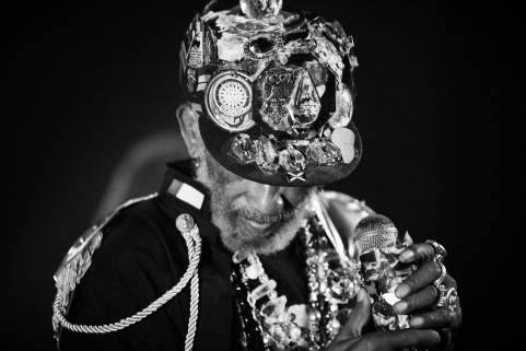 Lee 'Scratch' Perry. Brugges, October 2015.