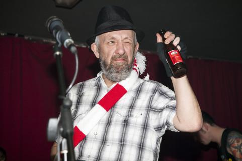 Frankie Stubbs (Leatherface). Ostend, February 2012.