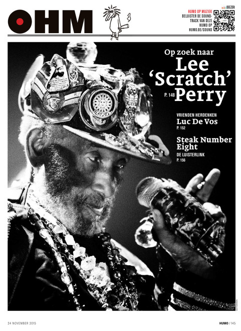 Lee Scratch Perry. Brugges, November 2015.