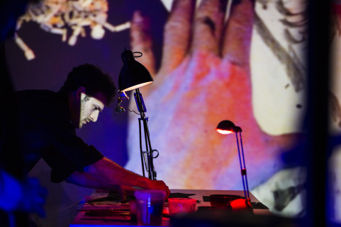Vincent Glowinsky AKA Bonom. Gent, May 2015.