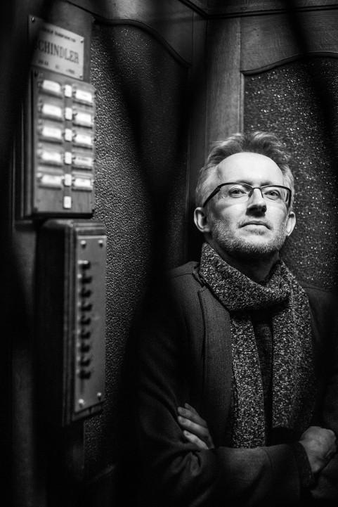 David Van Reybrouck. Brussel, March 2016