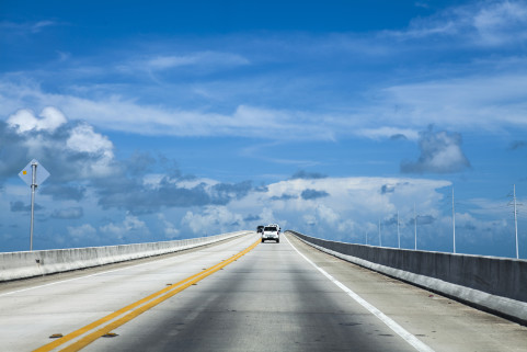 Overseas Highway. Florida. July 2014