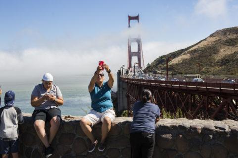 Vista Point. San Francisco. California. July 2017