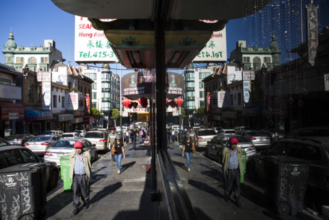 Chinatown. San Francisco. July 2017