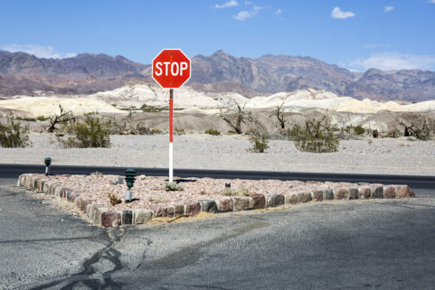 Furnace Creek. Death Valley National Park. California. July 2017