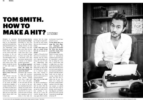 Tom Smith (Editors) for Man On The Moon Magazine