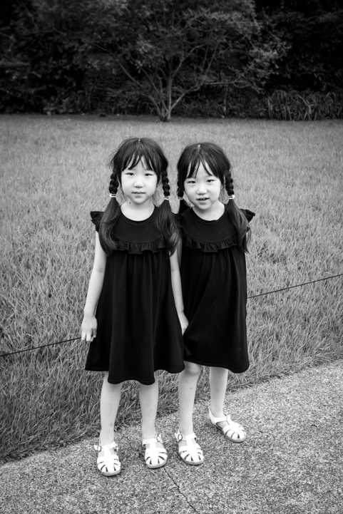 Twins in Hakone, Japan © 2019