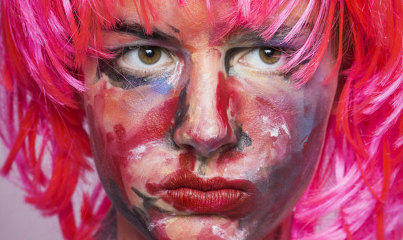 Ginger as Marlene Dumas' Autoportrait